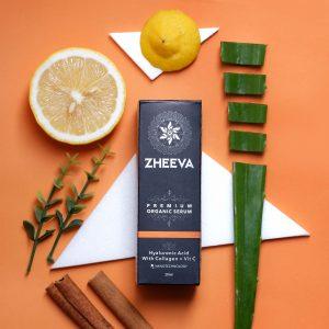 zheeva organic recovery serum melembutkan kulit