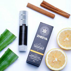 zheeva organic recovery serum regenerasi wajah kulit